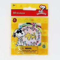 Snoopy & Peanuts Gang Prismatic Stickers Pack