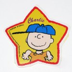 Charlie Brown Star Sticker