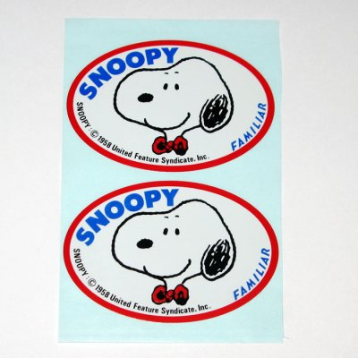Snoopy Portrait Stickers