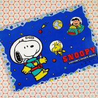 Astronauts Snoopy Woodstock and Lucy Sticker Album