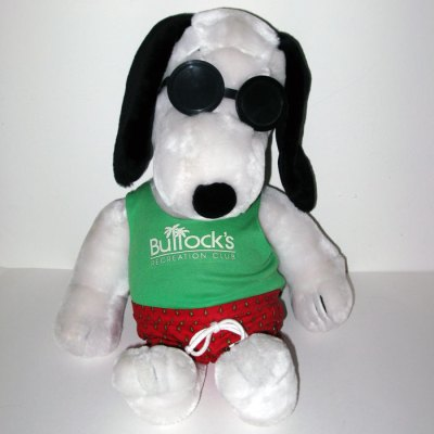 Bullock's Recreation Club Plush Snoopy Doll