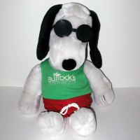 Bullock's Recreation Club Plush Snoopy Doll
