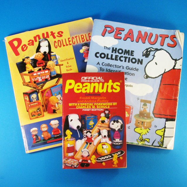 Peanuts Collector Books are handy reference guides and collection trackers.