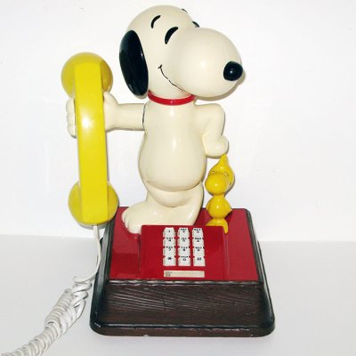 Snoopy Telephone - Push Button