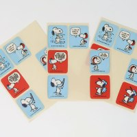 Snoopy Personalities Stickers