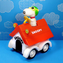 Get Rolling with Snoopy Friction Cars