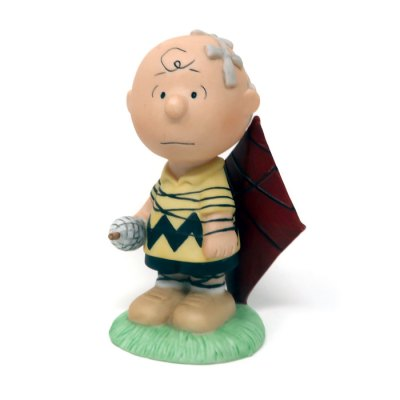 Charlie Brown with Kite Figurine