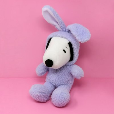 Snoopy Purple Easter Beagle Plush