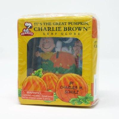 It's the Great Pumpkin, Charlie Brown Leaf Globe