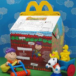 Click to view Peanuts McDonald's Memorabilia