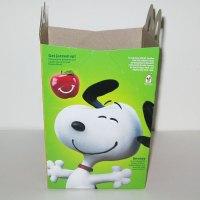 Peanuts Movie Happy Meal Box