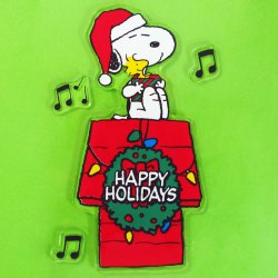 Click to shop Peanuts Christmas Window Clings