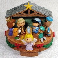 Peanuts Nativity Christmas Ornament