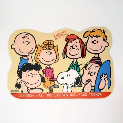 Peanuts Activity Placemat