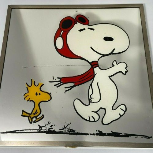 Flying Ace Snoopy Mirror