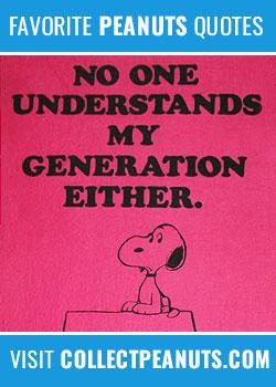 No one understands my generation either