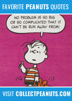 10 Favorite Peanuts Comic Strip Quotes Collectpeanutscom