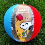 Snoopy & Woodstock Beach Ball