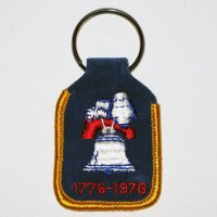 Snoopy on Liberty Bell Keychain