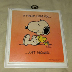 Snoopy Hallmark Plaque