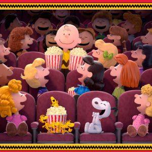 Popcorn & Peanuts Fabric