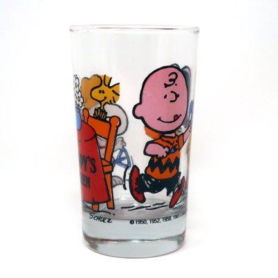 Snoopy's Kitchen Glass