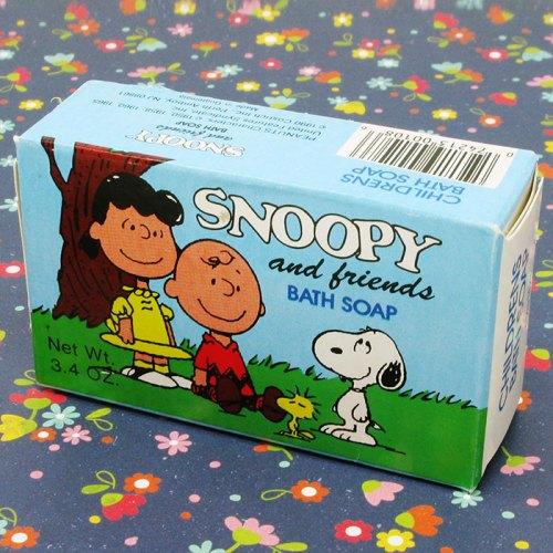 Snoopy & Friends Bath Soap