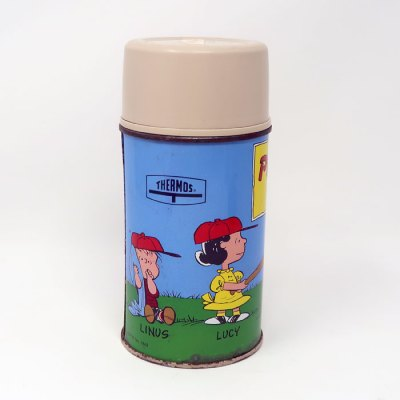 Peanuts Gang Metal Thermos Flask
