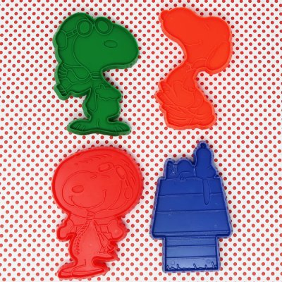 Snoopy Set Four Cookie Cutters