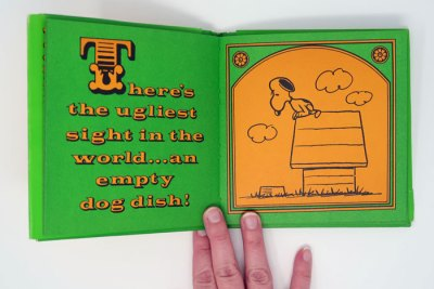 Home is on Top of a Doghouse Peanuts Book