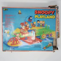 Snoopy Playland Playset