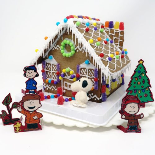 Peanuts Gingerbread House Kit