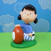 Lucy with football PVC Figurine