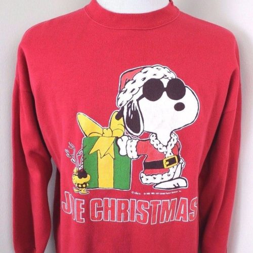 Snoopy Joe Christmas Sweatshirt