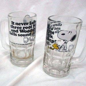 Snoopy Rootbeer Mugs