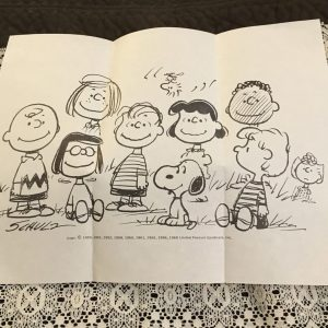 Peanuts Coloring Page
