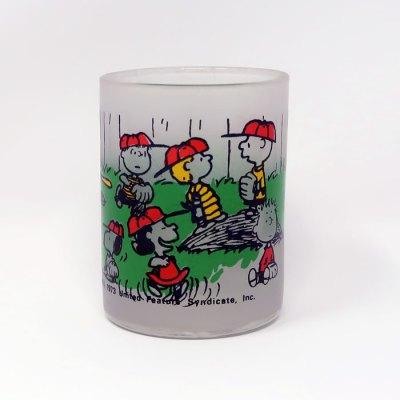 Peanuts Baseball Votive Candle