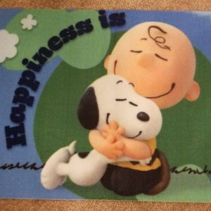 Charlie Brown & Snoopy Doormat