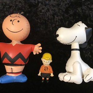 Charlie Brown & Snoopy Inflatables