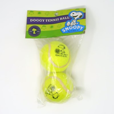 Tennis Player Snoopy tennis balls