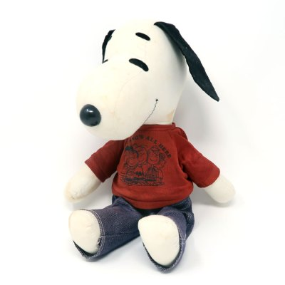 Snoopy Rag Doll by Ideal