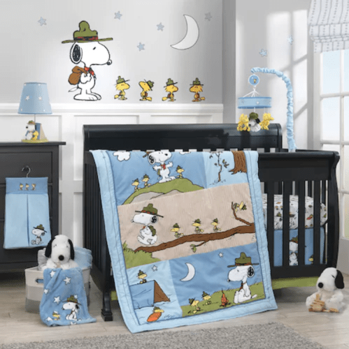 Snoopy Crib Bedding Sets