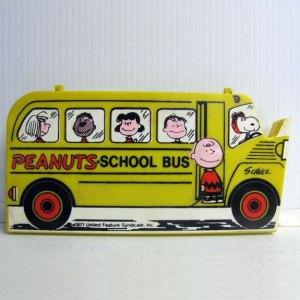 Peanuts School Bus Pencil Case