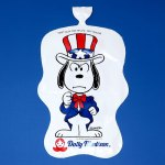 Snoopy Uncle Sam Inflatable