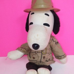 Reporter Snoopy Rag Doll