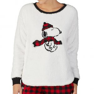 Peanuts Christmas Pajamas from Dillard's
