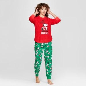 Peanuts Christmas Pajamas from Target