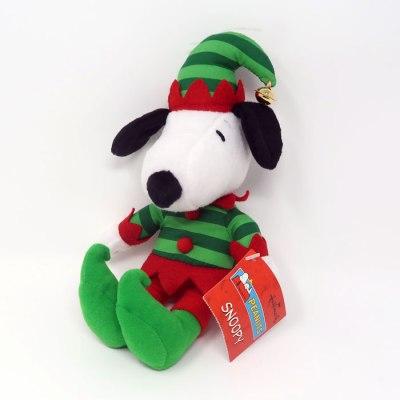Mini Elf Snoopy Christmas Plush