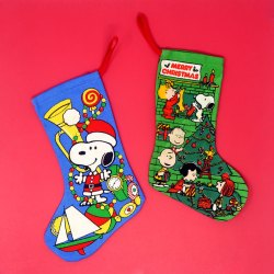 Click to view Snoopy Christmas Stockings