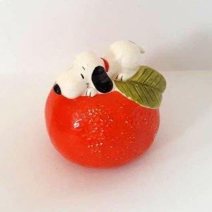 Snoopy Orange Bank